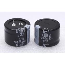 10000µF 35V - Condensateur aluminium - D35x27mm